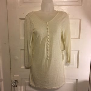Intimately Free People Long Sleeve Snap Front Top